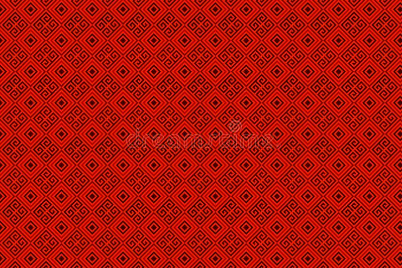 Red Chinese New year background . Illustration design stock photography
