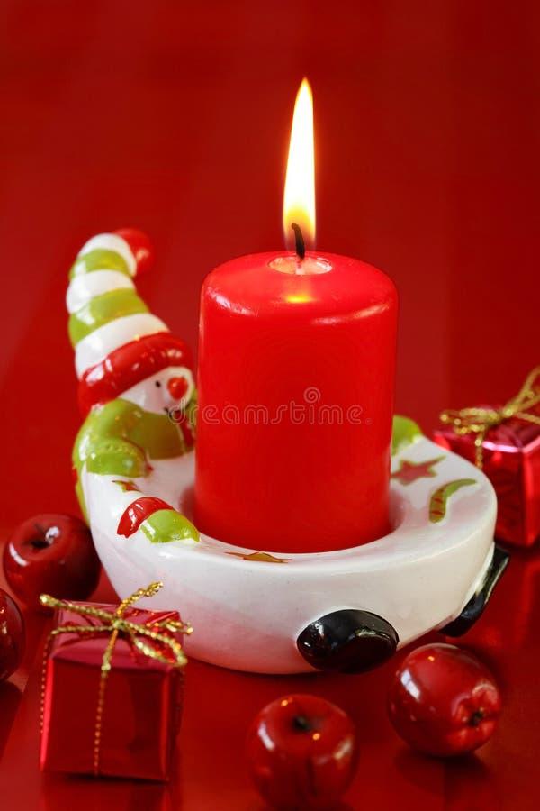 Red Christmas stock image