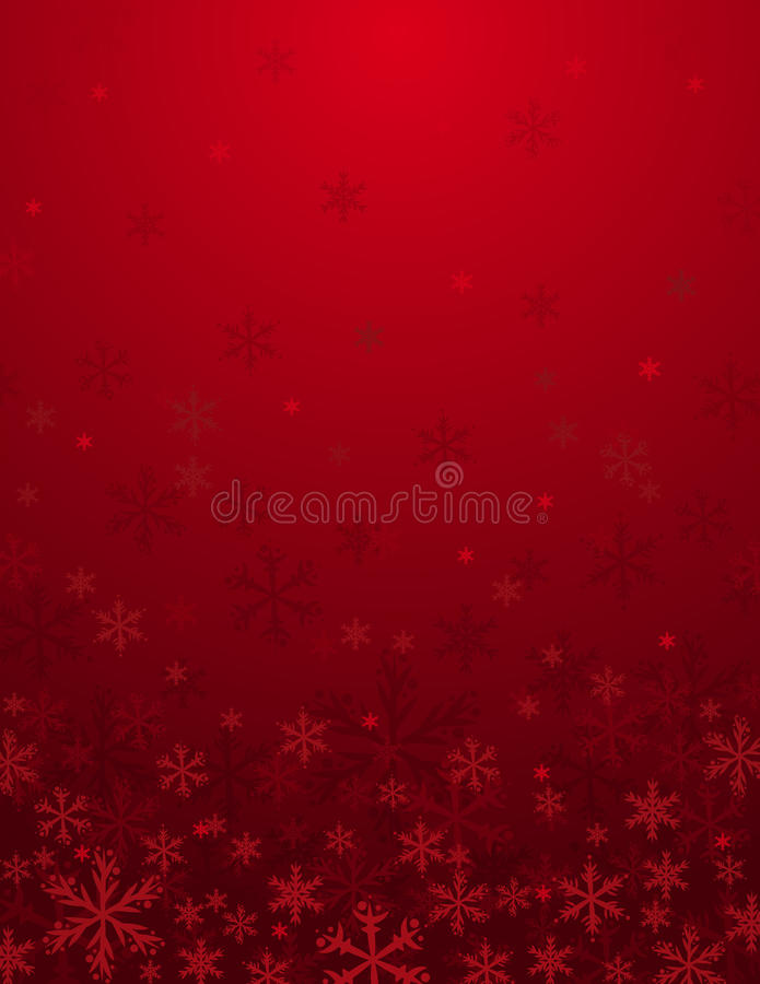 Red christmas background, royalty free stock photo