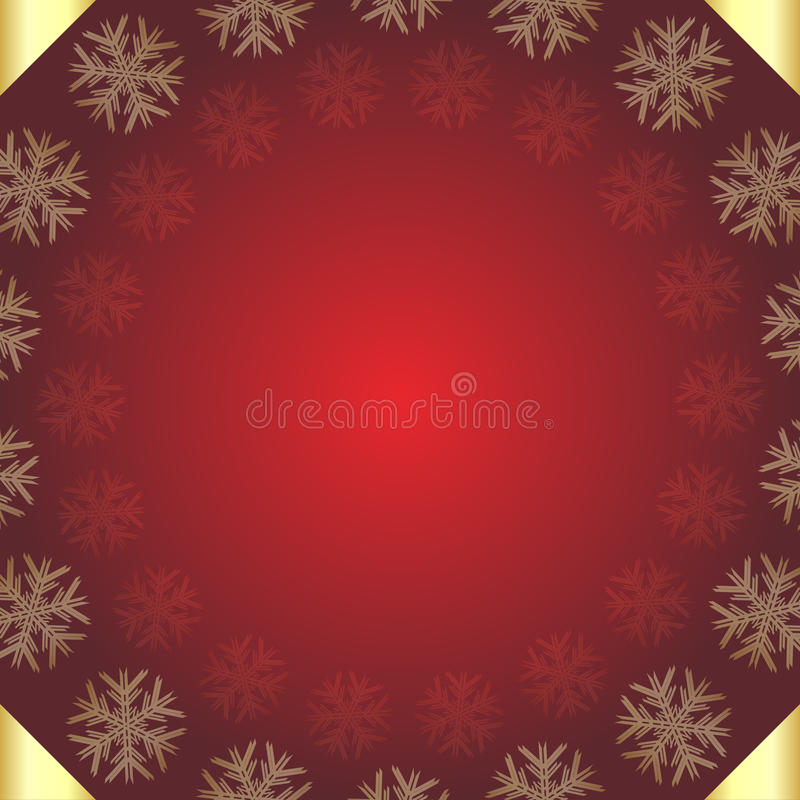 Download Red Christmas background stock vector. Image of artistic - 16101281