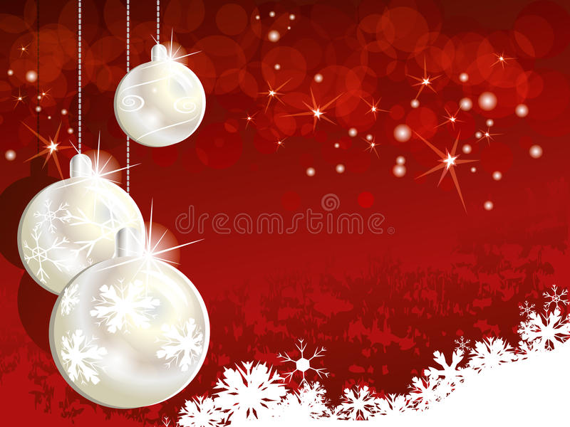 Download Red Christmas background stock vector. Image of background - 26438500