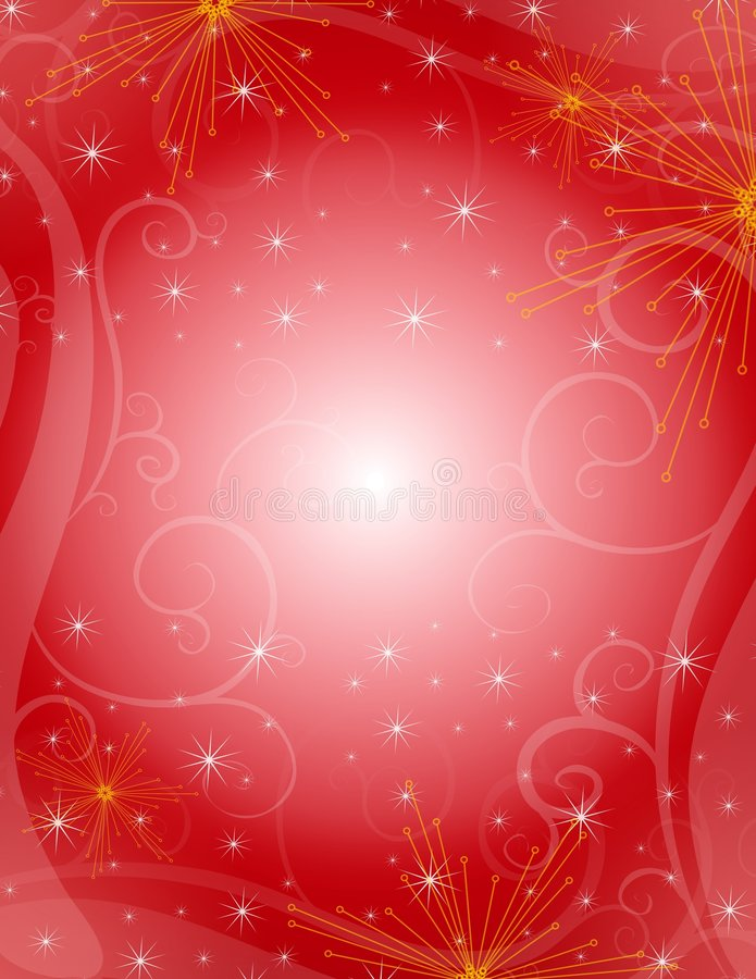 Free Red Christmas Background Royalty Free Stock Photography - 6438817