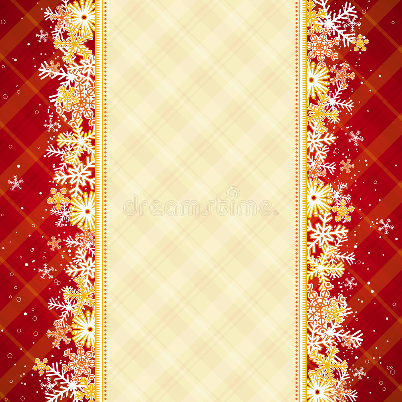 Red Christmas Background Royalty Free Stock Photo