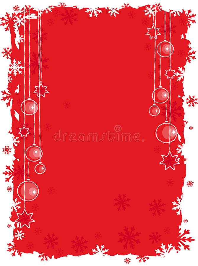 Download Red christmas background stock vector. Illustration of ornament - 6987871