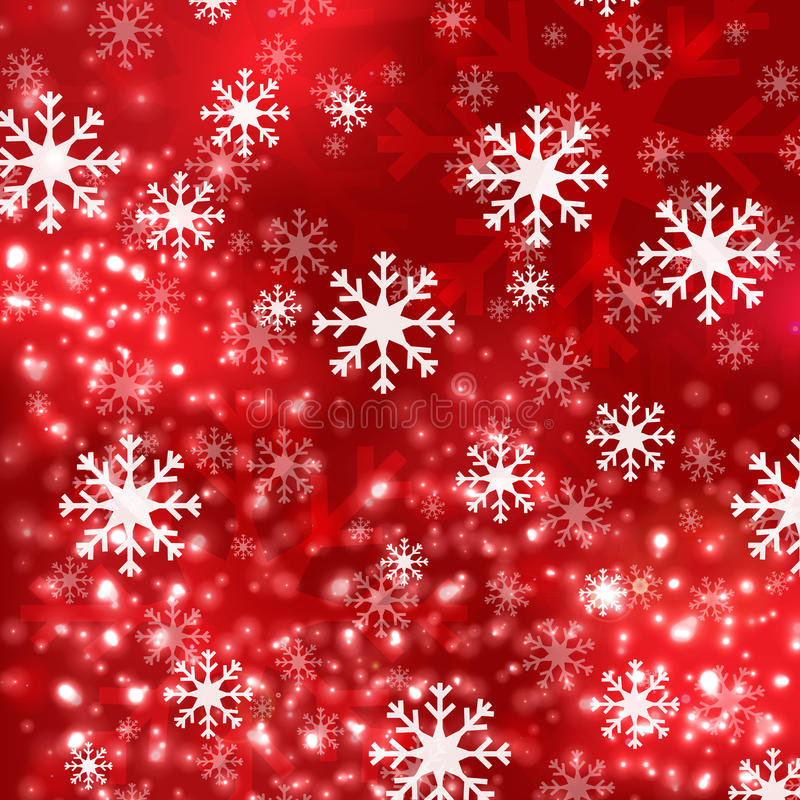 Free Red Christmas Background In Elegant Style Royalty Free Stock Images - 35595559