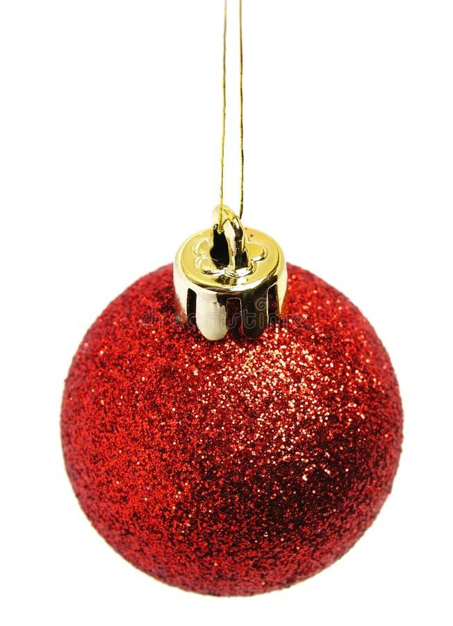 Download Red christmas ball stock image. Image of ornaments, hang - 249737
