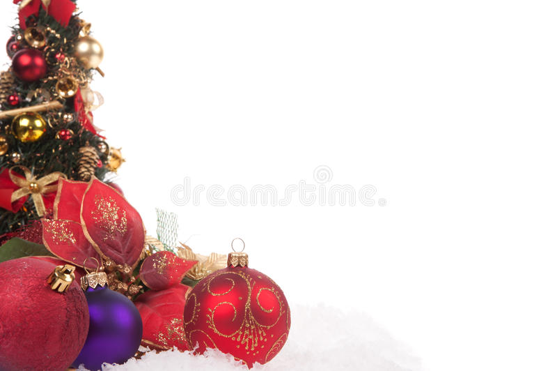 Download Red Christmas ball stock image. Image of occasion, christmas - 27386927