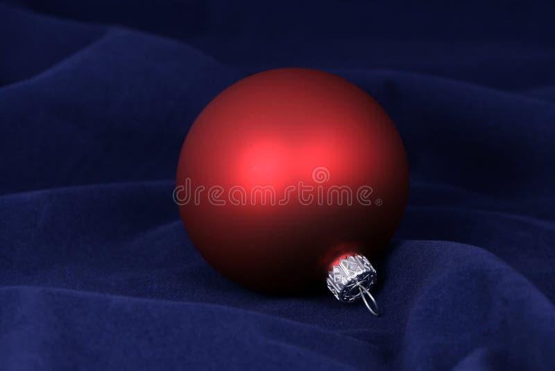 Download Red christmas ball stock image. Image of shiny, ball, xmas - 7274023