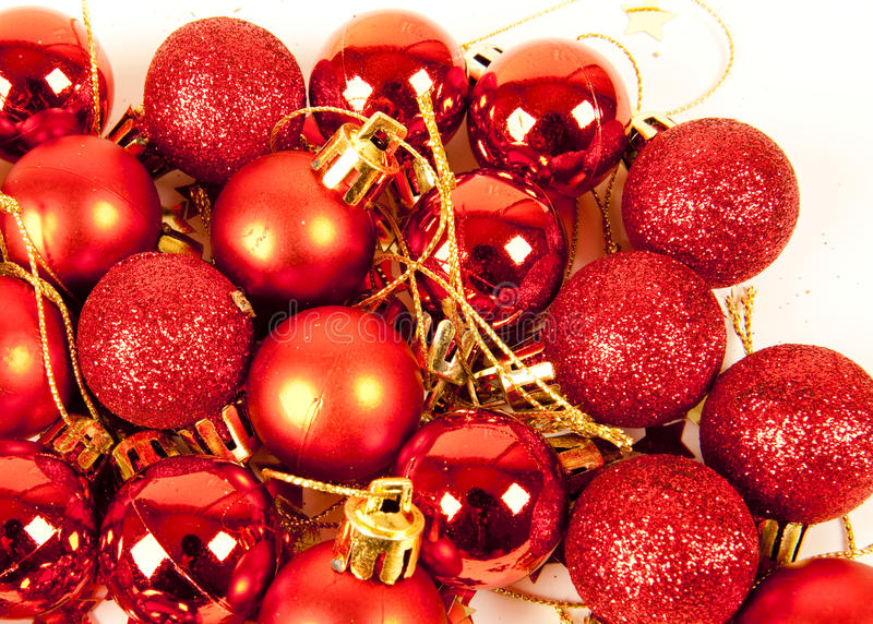 Download Red Christmas Balls Stock Photography - Image: 11806882