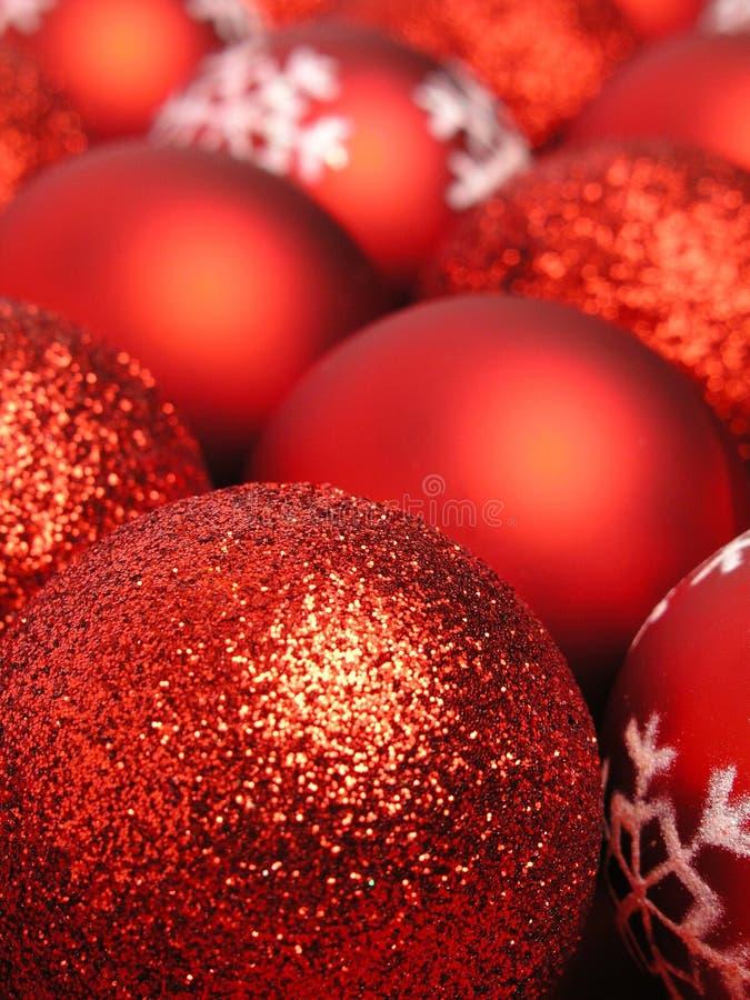 Free Red Christmas Balls Royalty Free Stock Photo - 251295