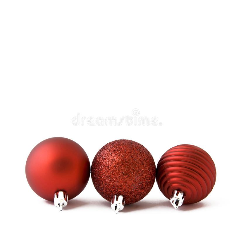 Free Red Christmas Balls Stock Photos - 27078483