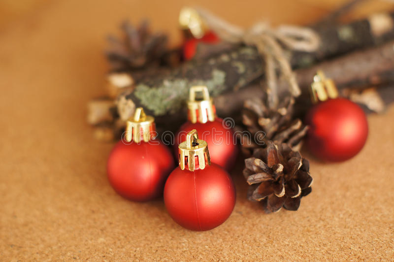 Download Red christmas balls stock image. Image of decoration - 33838905