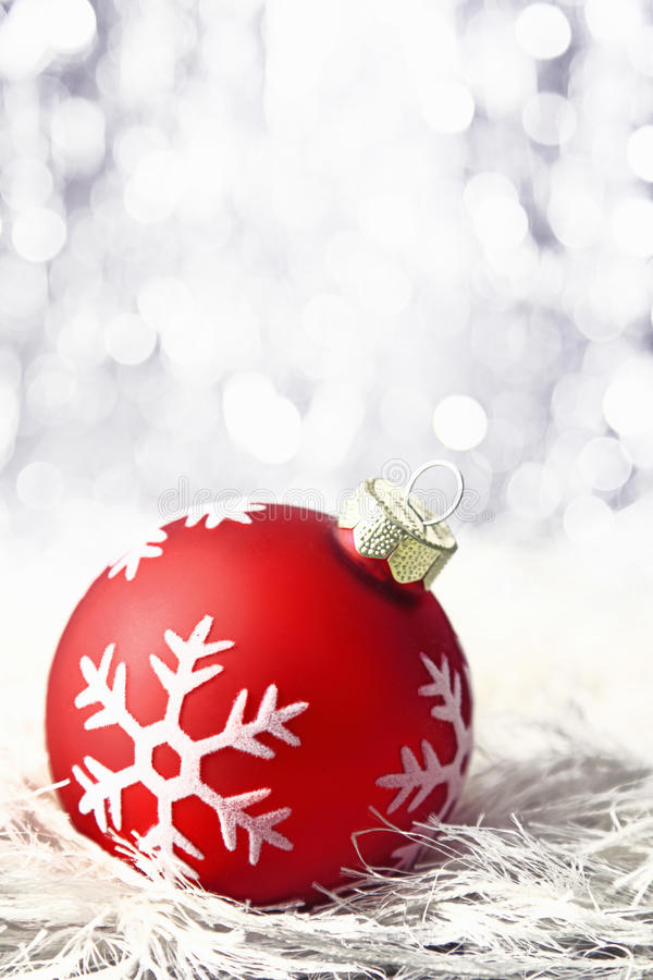 Download Red Christmas Bauble With Boketh Stock Photo - Image: 22458450