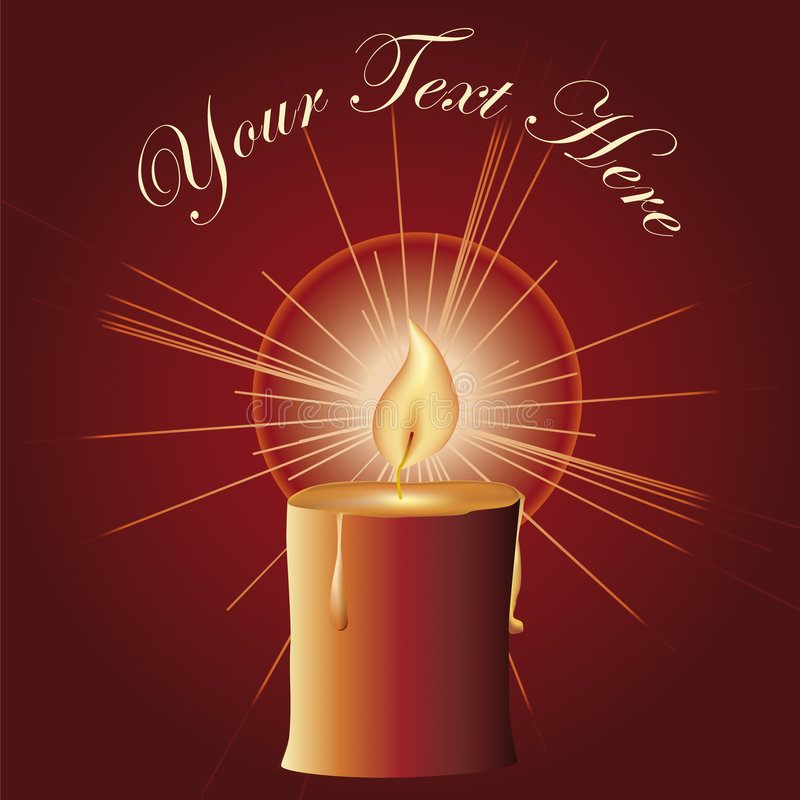 Free Red Christmas Candle Stock Photos - 7194103