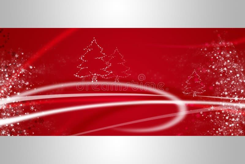 Red christmas illustration vector illustration