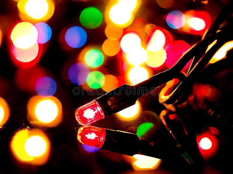 Christmas light stock photos