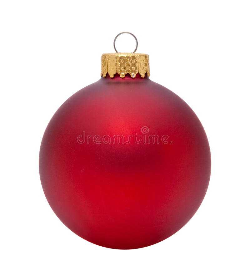 Free Red Christmas Ornament Royalty Free Stock Photography - 46319617