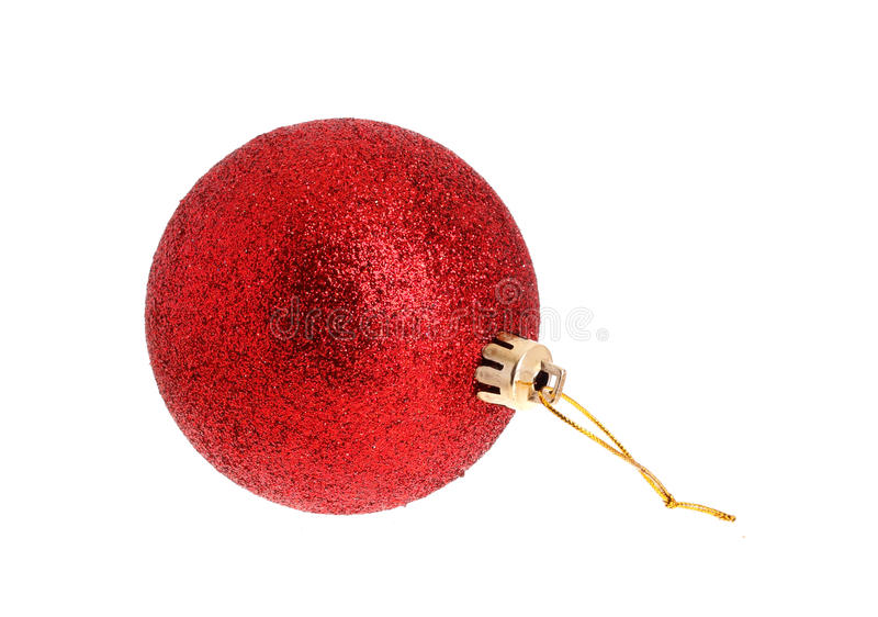 Red christmas ornamnet royalty free stock photos