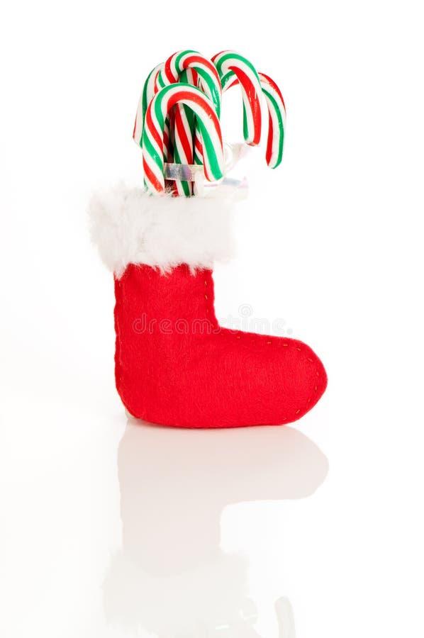 Download Red Christmas Stocking stock image. Image of seasonal - 11750651
