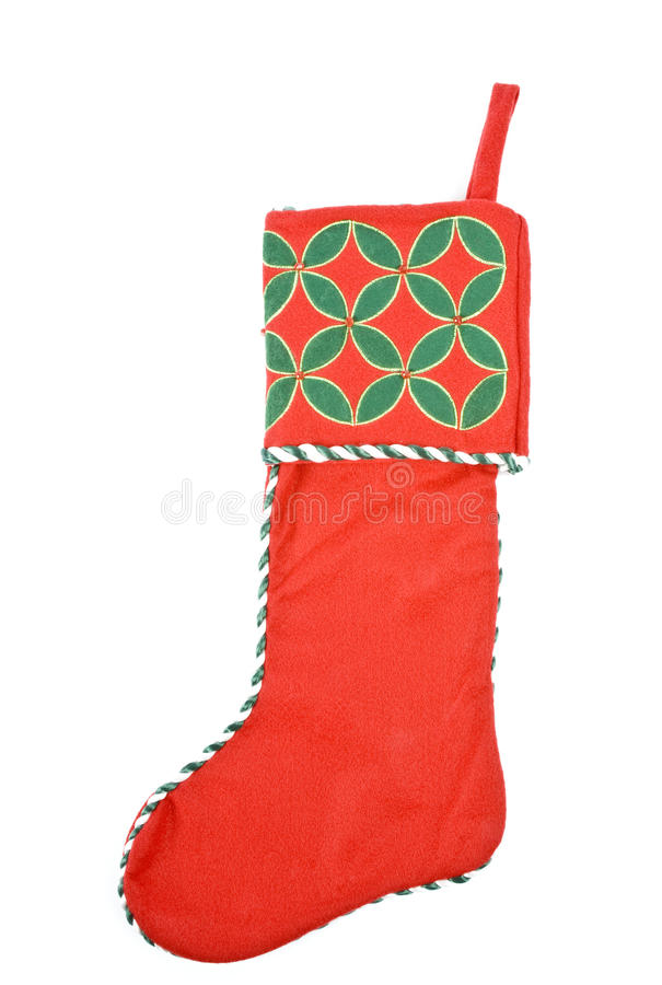 Download Red Christmas Stocking stock image. Image of winter, holiday - 11961633