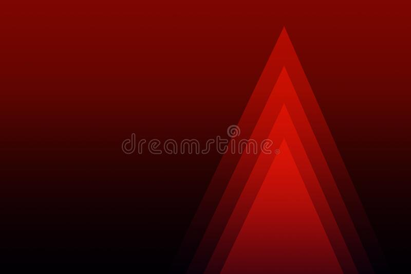 Christmas trees, abstract designs for backgrounds royalty free illustration