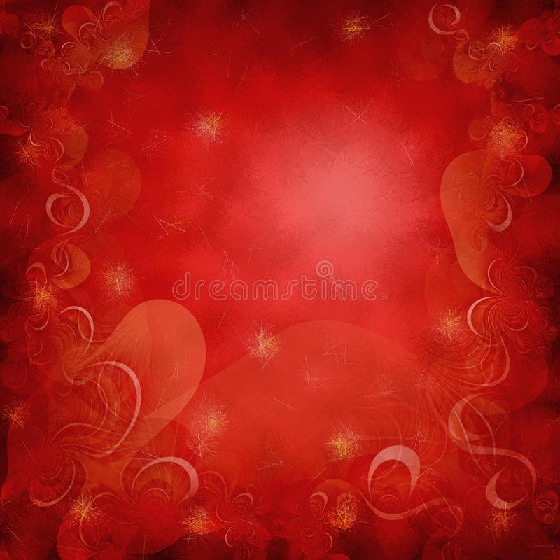 Red Christmass background royalty free illustration