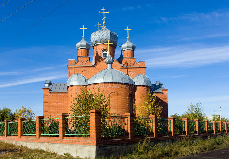 Download Red church stock photo. Image of crosses, architecture - 11570884