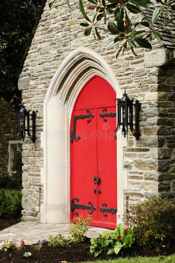Free Red Church Door Stock Photo - 18922120