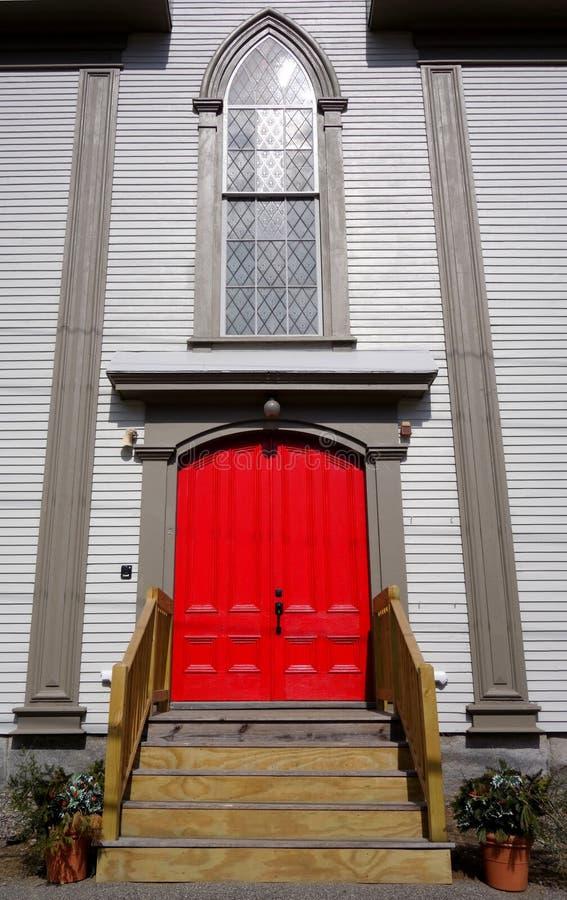 Download Red church door stock photo. Image of stain, window, door - 39960680