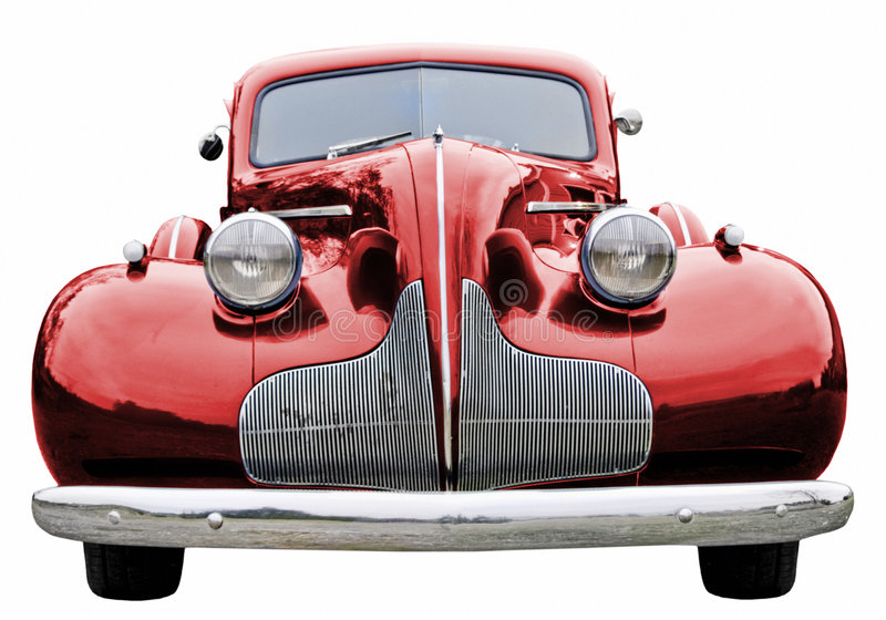 Download Red Classic Car Royalty Free Stock Photo - Image: 5952865