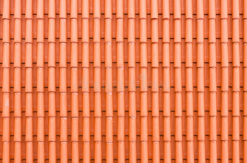 Download Red Clay Roof Tiles Stock Image. Image Of Architectural   32648605