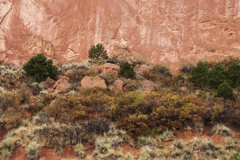 Download Red Cliffs and Soil stock photo. Image of american, high - 17218342