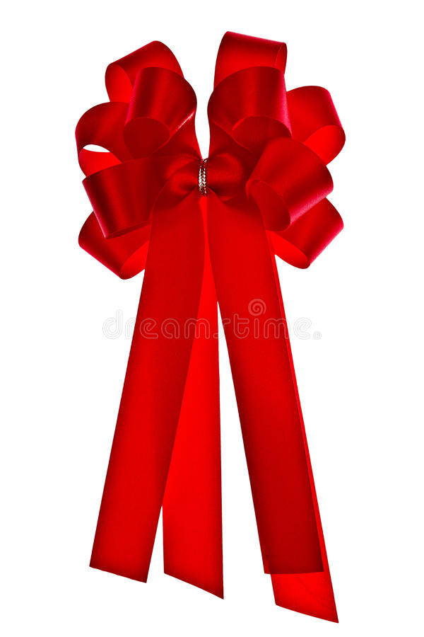 Red cloth ribbon