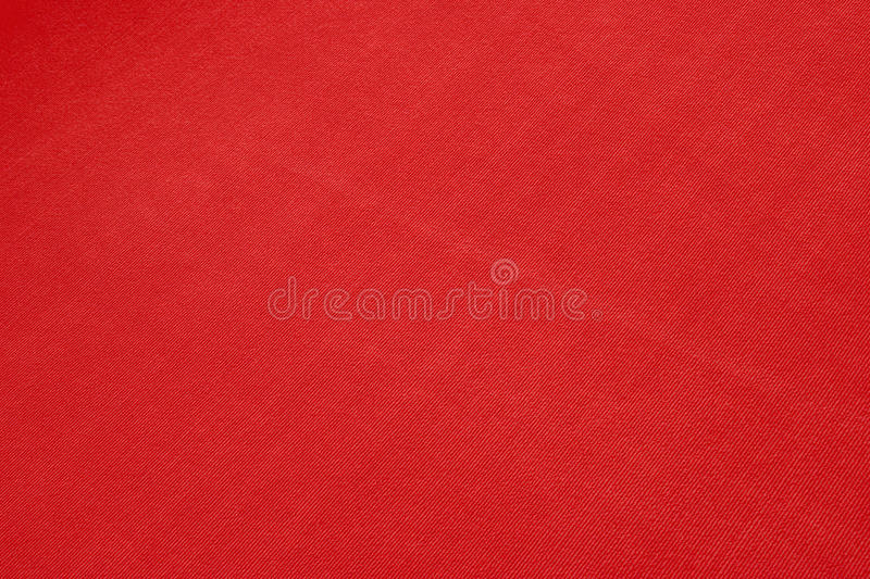 Red cloth texture stock photography