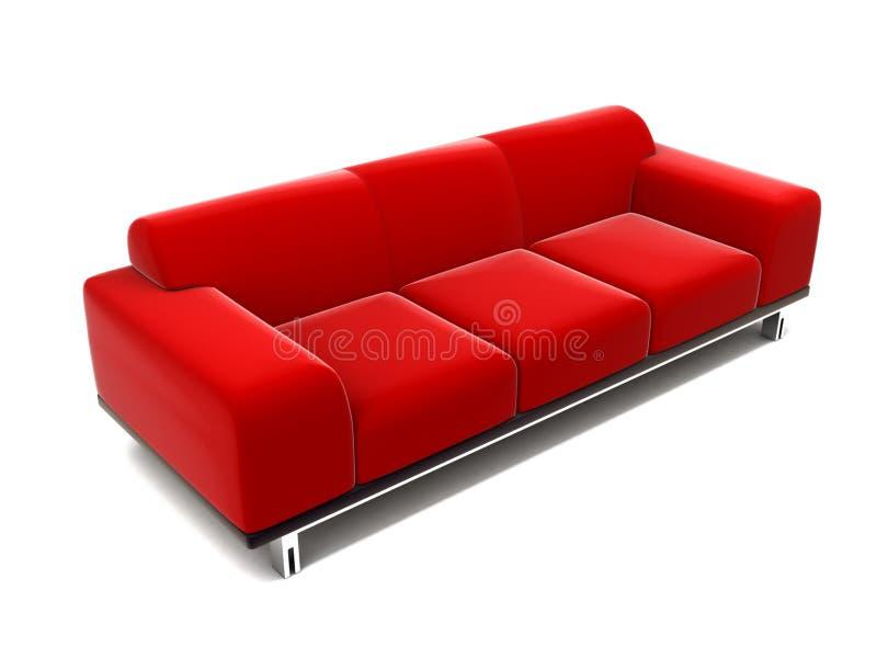 Download Red coach stock illustration. Illustration of luxury, divan - 4769120