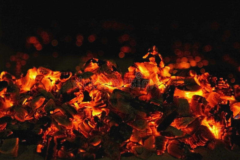 Download Red coal stock photo. Image of carbon, horizontal, dangerous - 8835830