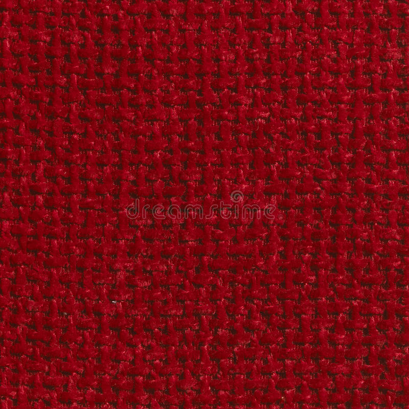 Download RED COARSE WEAVE FABRIC BACKGROUND Stock Image - Image: 30357037