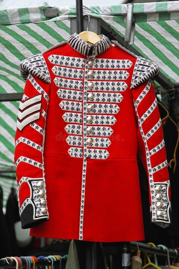 Red coat uniform stock images