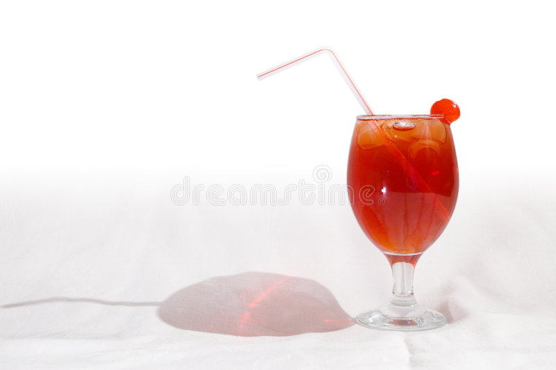 Red Cocktail 1 stock photography