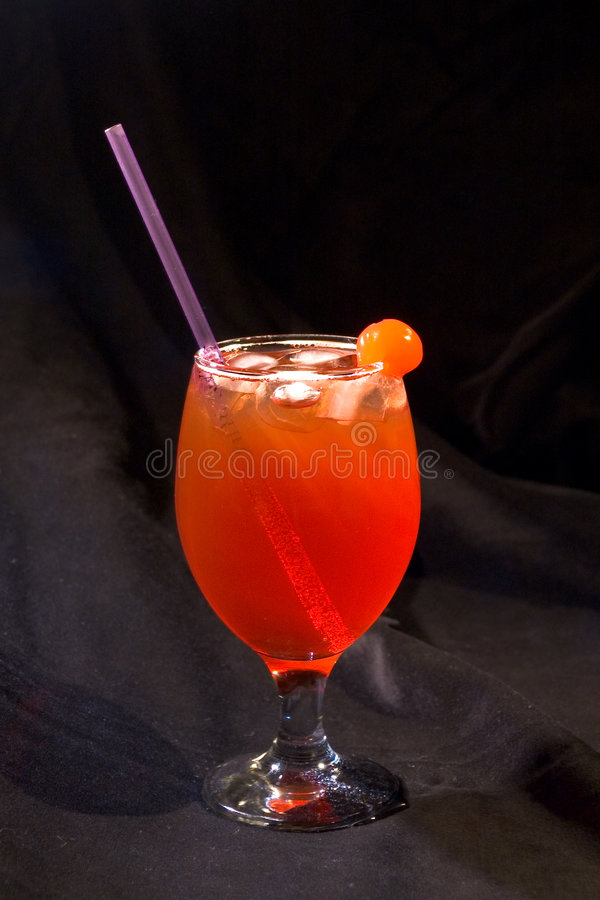 Red Cocktail 3 royalty free stock photo