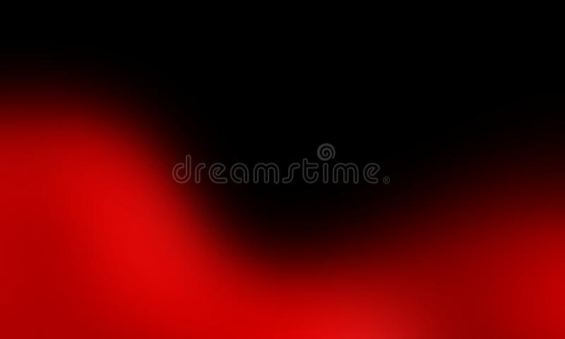 Red color abstract blur background wallpaper, vector illustration. royalty free stock images