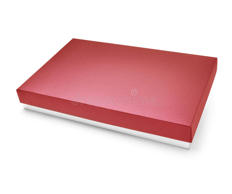 Download Red color carboard box stock photo. Image of party, cover - 33471294
