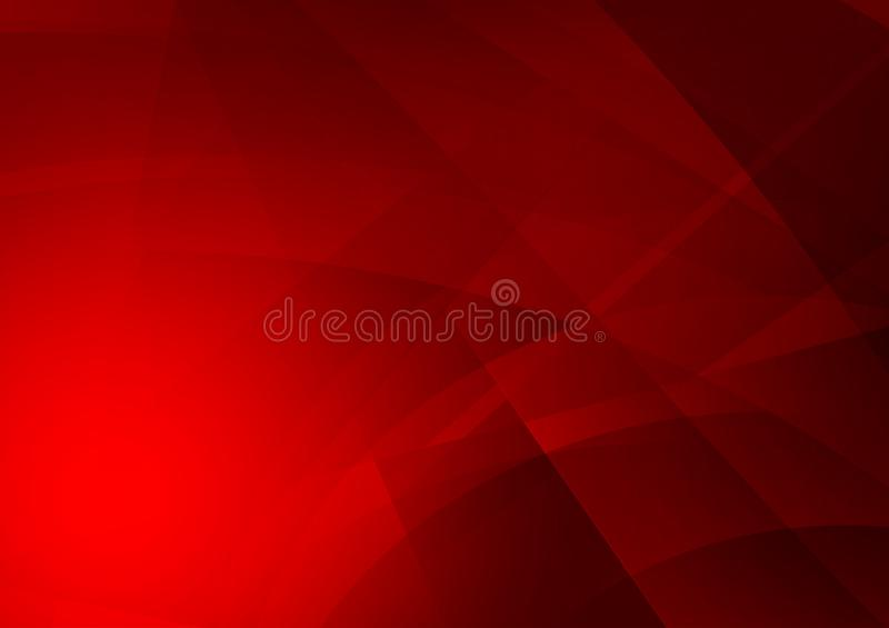 Red color geometric abstract background, Graphic design royalty free illustration