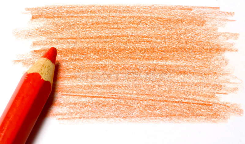 Download Red Color Pencil With Coloring Stock Photo - Image: 4752958