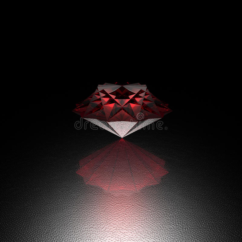 Download Red Cool Bright Diamond Brilliant Royalty Free Stock Photos - Image: 12035288