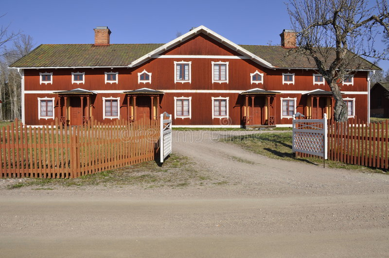 Download Red Cottage Stock Photography - Image: 9117992