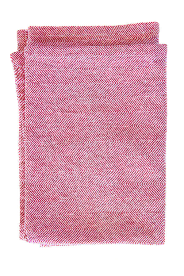 Red Cotton Texture Stock Image