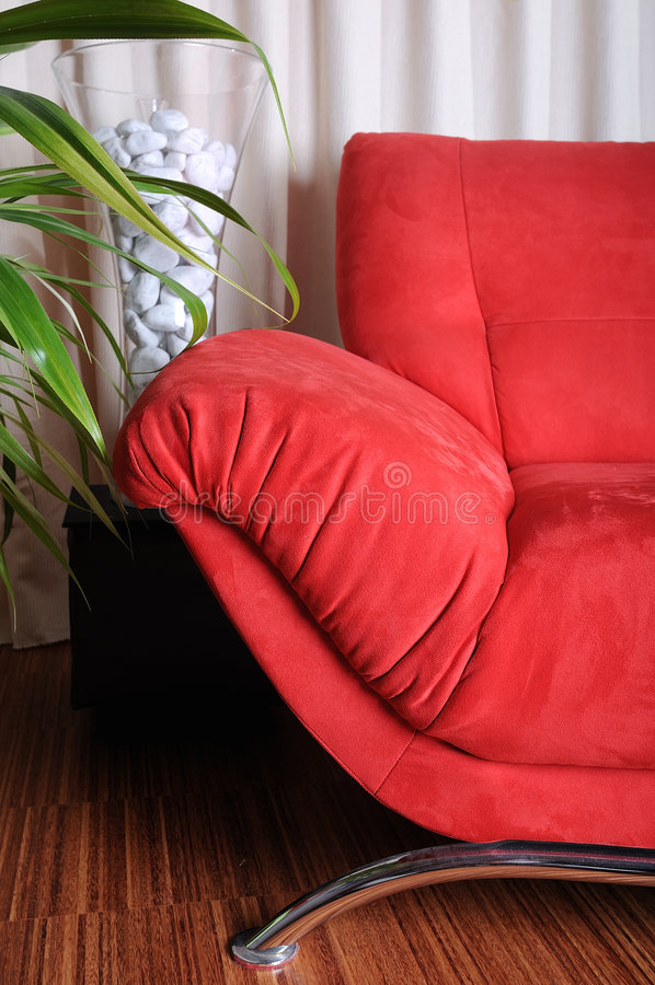 Free Red Couch Stock Photos - 8100083