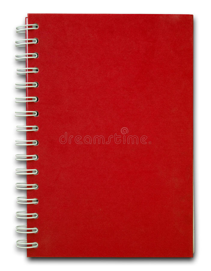 Download Red cover Note Book stock image. Image of office, document - 14497337