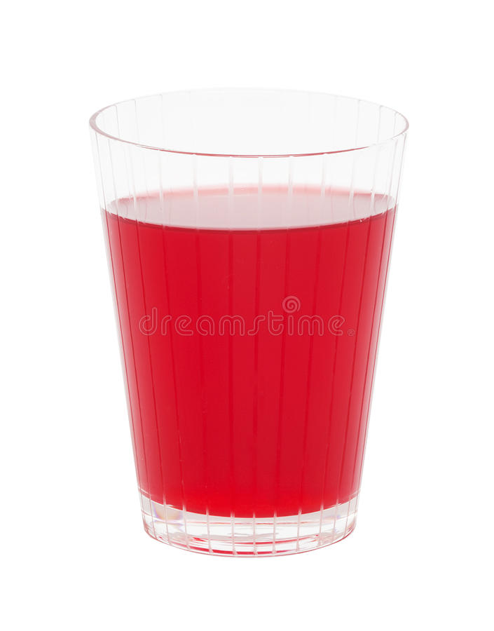 Red cranberry fruit drinks royalty free stock image